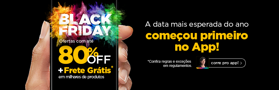 Black friday coemçou mais cedo no app